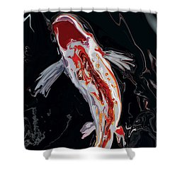 The Koi Shower Curtain