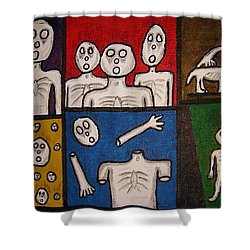 The Last Hollow Men Shower Curtain
