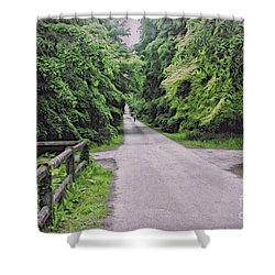 The Last Path Shower Curtain