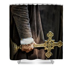 The Law Shower Curtain by Margie Hurwich