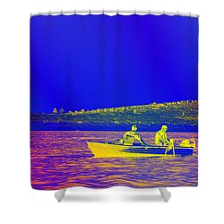 Shower Curtain featuring the photograph The Lazy Sunday Afternoon by David Pantuso