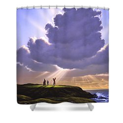 The Legend Of Bagger Vance Shower Curtain