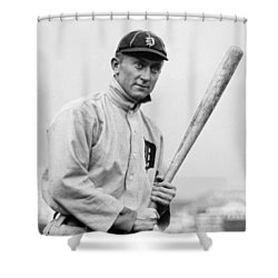 The Legendary Ty Cobb Shower Curtain