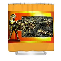 The Legends Of Troy. . .  Shower Curtain by Hartmut Jager