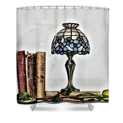 The Library Shower Curtain by Bill Cannon