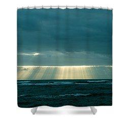 The Light Above Kapoho Shower Curtain by Lehua Pekelo-Stearns