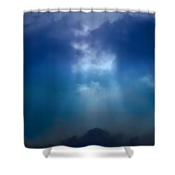 Light Above The Storm Shower Curtain