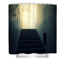 The Light At The Top Of The Stairs Shower Curtain
