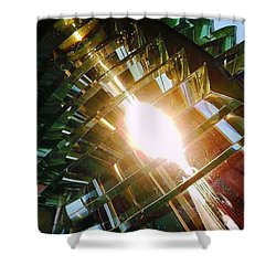 Shower Curtain featuring the photograph The Light by Daniel Thompson