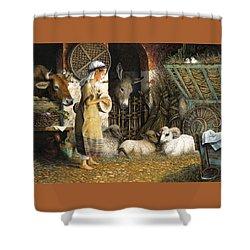 The Little Drummer Boy Shower Curtain