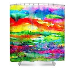 The Living Desert Shower Curtain