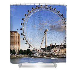 The London Eye Shower Curtain by Rod McLean
