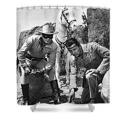 The Lone Ranger And Tonto Shower Curtain
