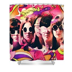 The Look Shower Curtain by Mo T