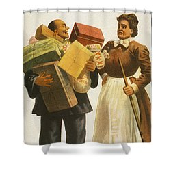 The Lost Trail Shower Curtain by Aged Pixel