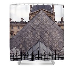 The Louvre Shower Curtain