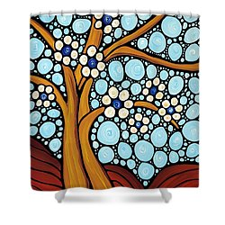 The Loving Tree Shower Curtain by Sharon Cummings