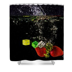 The Lucky 7 Splash Shower Curtain by Rene Triay Photography