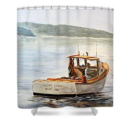 The Lyllis Esther Shower Curtain