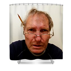 The Mad Photo Editor Shower Curtain by Skip Willits
