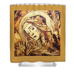 The Madonna Of Medjugorje,  Shower Curtain