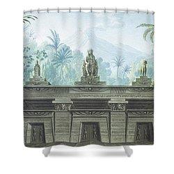 The Magic Flute Shower Curtain by Karl Friedrich Schinkel