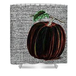 The Magical Pumkin Shower Curtain