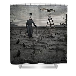The Magician Shower Curtain by Juli Scalzi