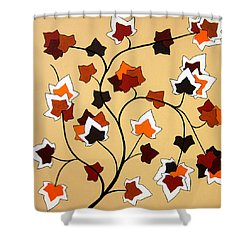 The Magnolia House Rules Shower Curtain by Oliver Johnston