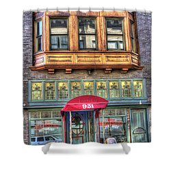 The Majestic Restaurant Shower Curtain by Liane Wright