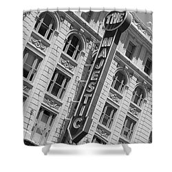 The Majestic Theater Dallas #3 Shower Curtain by Robert ONeil