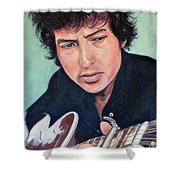The Man In Me Shower Curtain by Tom Roderick