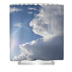 Rainbow Tears Shower Curtain