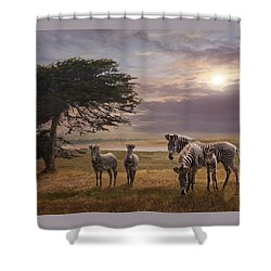 The Mane Event Shower Curtain