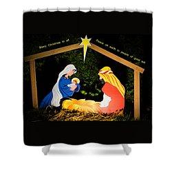 O Holy Night Shower Curtain