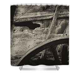 The Marks Of Age Shower Curtain by Paul W Faust -  Impressions of Light