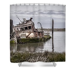The Mary D. Hume Shower Curtain by Heather Applegate