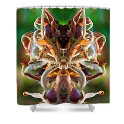 Shower Curtain featuring the photograph The Mating by WB Johnston