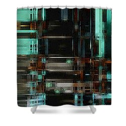 The Matrix 3 Shower Curtain