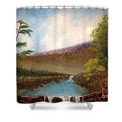 The Meadows Shower Curtain
