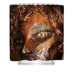 The Medusa Snare  Shower Curtain by Avonelle Kelsey