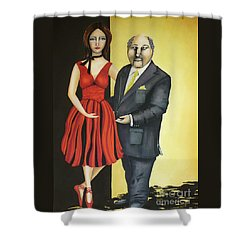The Mentor Shower Curtain by Kaye Miller-Dewing