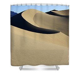 The Mesquite Dunes Of California Shower Curtain by Bob Christopher