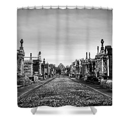 The Metairie Cemetery Shower Curtain