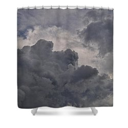 The Mighty Hand Of God Shower Curtain by Paulette B Wright