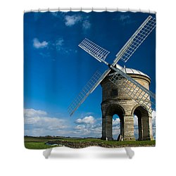 The Mill Shower Curtain by Anne Gilbert