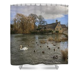 The Millhouse At Fairford Shower Curtain