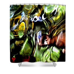 Shower Curtain featuring the photograph The Mind's Eye  by Deena Stoddard