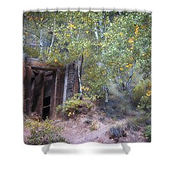 The Mine Shaft Shower Curtain