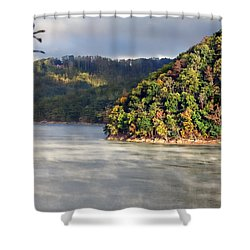 The Mists Of Watauga Shower Curtain